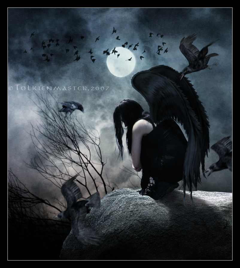 raven_in_a_moonlit_night_by_tolkienmaster