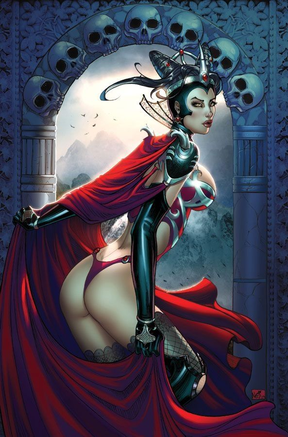 c1ab231b254d576ad9fc0a2b505e3801--evil-queens-comic-art