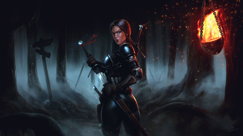 fantasy-girl-armored-sword-dark-forest-fire-scar-fantasy-3936-resized