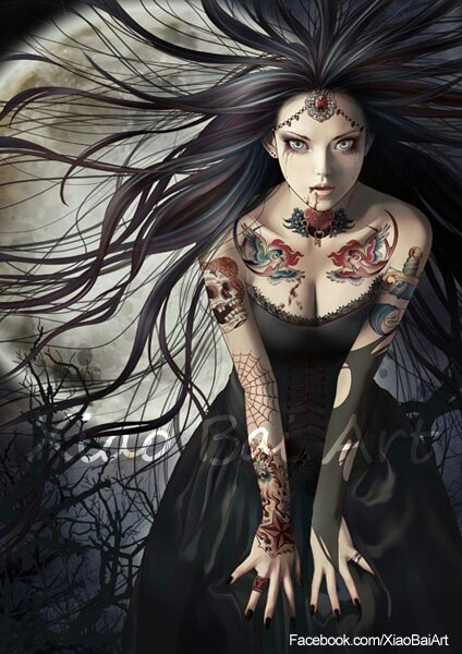 a3ff433a8f6bc86c39bfde10418c9336--gothic-fantasy-art-vamps